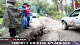 Temor y grietas en Áncash: calvario en Socosbamba