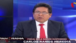 Ramos Heredia dice no haber hablado con su hijo sobre presuntos pagos de Orellana