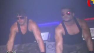 Modelos Erick Sabater y 'Coto' se presentaron en conocida discoteca