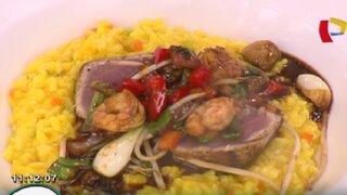 Prepara risotto al ají amarillo con filete de atún con estos sencillos pasos