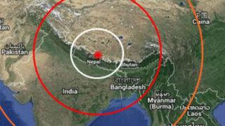 Sismo de 5.7 grados de magnitud vuelve a sacudir Nepal