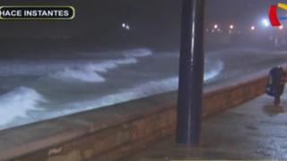 Nuevo oleaje anómalo afecta litoral: informan que duraría hasta el jueves