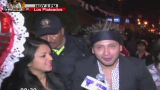 Reaparece 'Zumba': se presentó en evento en Huaral y habló sobre sus proyectos