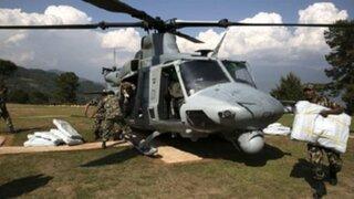 Desaparece helicóptero militar de EEUU que participaba en labores de rescate en Nepal