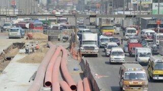 Metro de Lima: postergan cierre de Carretera Central y plan de desvíos