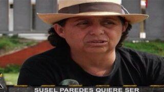Susel Paredes quiere ser candidata presidencial