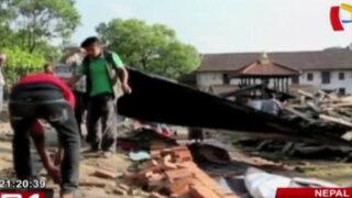 Más de 60 muertos por terremoto de 7.3 grados en Nepal