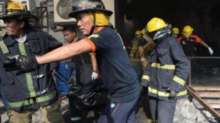 Filipinas: se elevó a 72 número de muertos por incendio en fábrica de zapatos