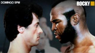 Rocky III: Silvester Stallone y Mr. T en la verdadera pelea del siglo