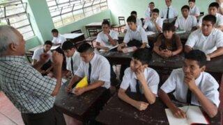 90% de maestros acudió a las aulas pese a paro convocado por el Sutep