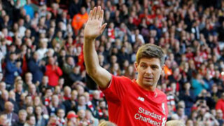 """Steven Gerrard en su despedida: """"Voy a extrañar mucho a Liverpool"""""""