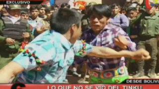 Las peleas más extremas: Lo que no se vio de la fiesta milenaria del Tinku
