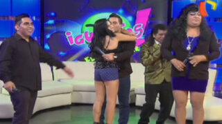Igualitos: Tommy Portugal y Estrella Torres se enfrentan a sus 'dobles'