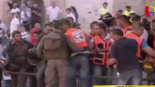 Disturbios en celebración de 'reunificación' de Jerusalén: se enfrentaron israelíes y palestinos
