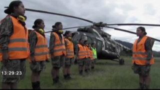 Mujeres de las comunidades nativas del Vraem cumplen el Servicio Militar