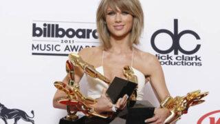 Taylor Swift fue la gran triunfadora de los premios Billboard 2015