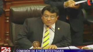 Comisión de Ética investigará de oficio a José Luna por trabajadores fantasmas