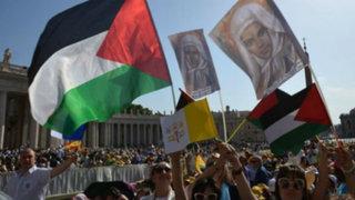 Papa Francisco canonizó a las dos primeras santas palestinas del siglo XIX