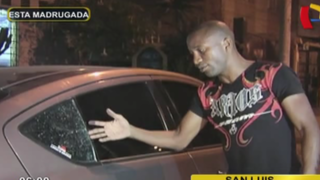 San Luis: boxeador Carlos Zambrano se pelea con ladrón de autos y lo denuncian