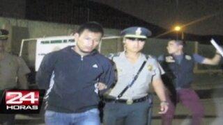 Independencia: capturan a peligrosa banda con gran cantidad de armas en su poder