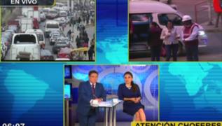 Hoy cierran tramo de la Carretera Central: se inician obras de Línea 2 del Metro de Lima