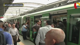 El colapso del Metro de Lima: medio de transporte dejó de ser un servicio cómodo