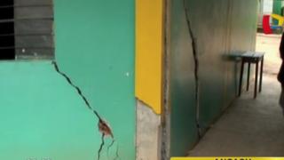 Áncash: reportan aparición de más grietas en Socosbamba