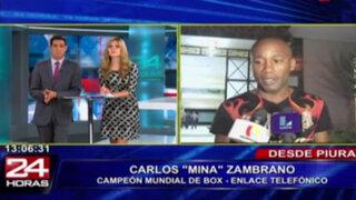 "Carlos ""Mina"" Zambrano no entrena por lesión producto de pelea durante asalto"