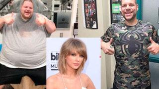 Fan bajó 180 kilos para asistir al concierto de su cantante favorita Taylor Swift