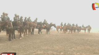VMT: policías resguardan zona arqueológica para evitar nueva invasión