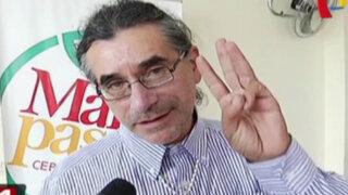 Waldo Ríos fue rehabilitado para asumir el cargo de gobernador regional de Áncash