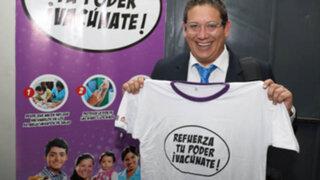 FOTOS: periodistas de Panamericana Televisión se suman a campaña de vacunación