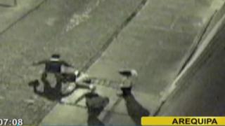 Arequipa: sujetos dieron brutal golpiza a joven para robarle sus zapatillas
