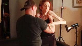 Impactantes imágenes: actriz con grave cuadro de anorexia pide ayuda