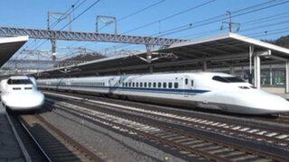 VIDEO : japoneses limpian un tren bala en sólo 7 minutos