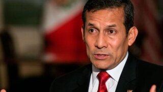 Humala pide al Congreso hacer análisis financiero de la permanencia de descuentos a gratificaciones