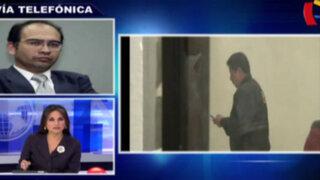 """Iván Montoya sobre Belaunde: """"Hubo una grosera deficiencia en protocolo de seguridad"""""""