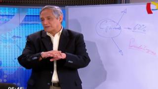 """Jorge González: """"Sería un error si Humala observa exoneración de descuentos a gratificaciones"""""""