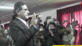 Waldo Ríos jura como gobernador de Áncash: presentó a aportantes de reparación civil