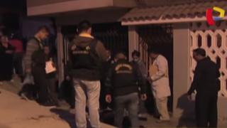 Mujer fue asesinada a golpes en vivienda de Villa María del Triunfo