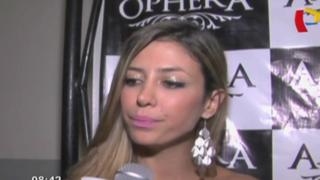 Claudia Ramírez habla de expareja George Forsyth y Fiorella Alzamora