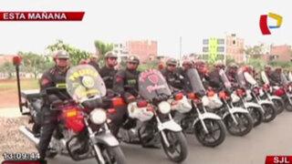Unos 400 policías vigilarán permanentemente calles y colegios de SJL