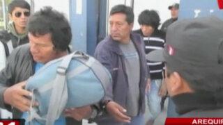 Capturan a presuntos integrantes de los 'Espartambos' en Arequipa