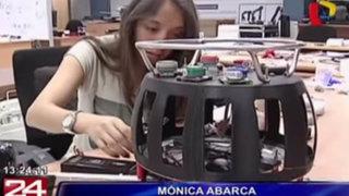 Universitaria desarrolla drone que detecta áreas contaminadas en zonas mineras