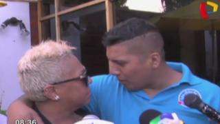 'Luisito' volvió al nido: Caycho declaró su amor a Lucía de La Cruz