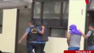 Trujillo: detienen a tres policías por transportar marihuana