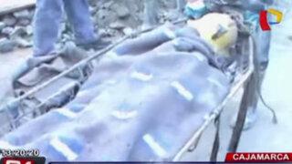 Cajamarca: mueren dos mineros artesanales en un socavón