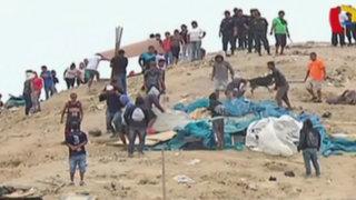 Chorrillos: dos grupos de invasores se enfrentaron por terrenos en el Morro Solar