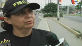 Susel Paredes fiscalizó retiro de construcciones de la vía pública