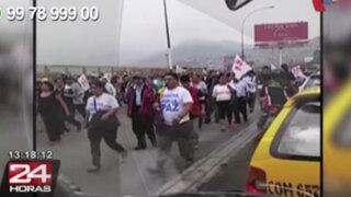 WhatsApp: exigiendo paz y contra ola de violencia marchan vecinos de SJL
